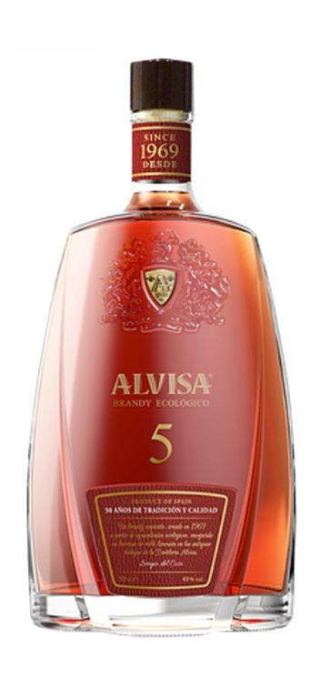 Brandy Ecológico Alvisa 5 años