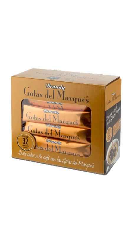 Brandy Gotas Del Marqués 32 Blisters