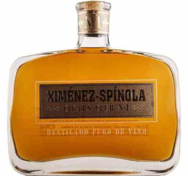 Brandy Ximenez Spinola Cigars Club nº 1