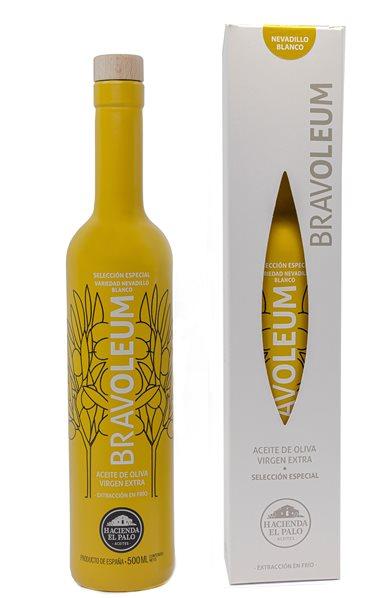 Bravoleum. AOVE Nevadillo Blanco. Estuche con Botella de 500 ml.
