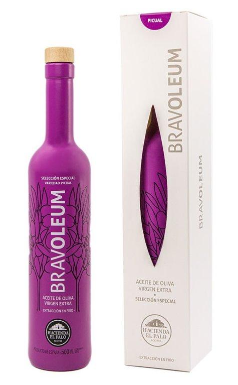 Bravoleum. AOVE Picual. Estuche con Botella de 500 ml.