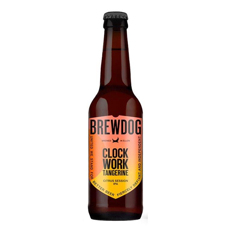 Brewdog Clockwork Tangerine. Cerveza de importación.
