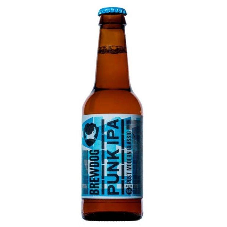Brewdog Punk IPA. Cerveza de importación.