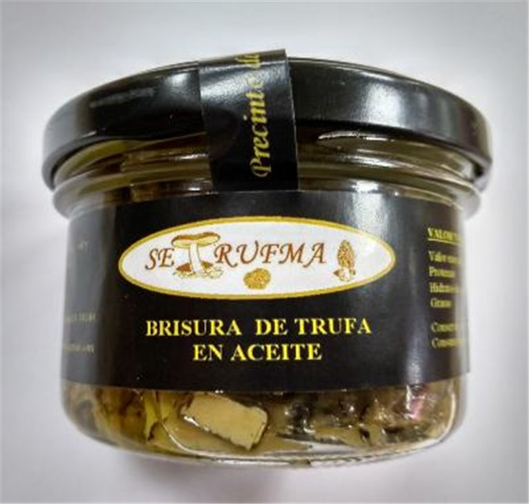 Brisura de trufa en aceite Setrufma, 1 ud