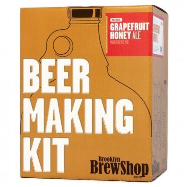 Brooklyn Brew Shop: Grapefruit Honey Ale