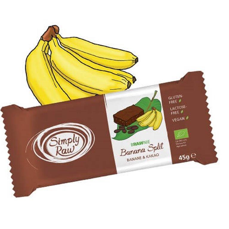 Brownie plátano y cacao, 500 gr