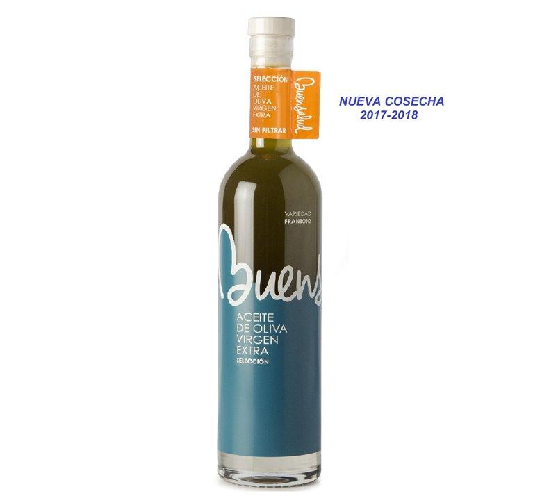 Buensalud Selección Frantoio. Botella 500 ml.