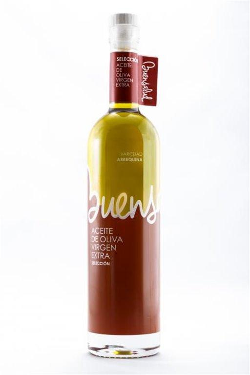 Buensalud Selección Arbequina. Botella 500 ml.