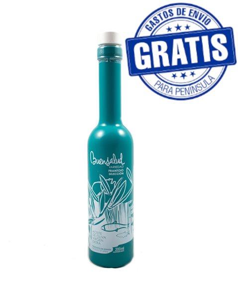Buensalud Selección Frantoio. Caja de 12 botellas de 200 ml.