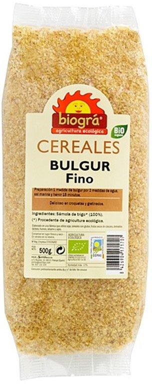 Bulgur Fino Bio 500g, 1 ud