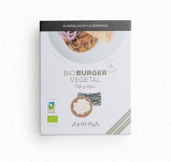 Burger Vegetal Tofu Algas Bio Ahimsa, 160 gr
