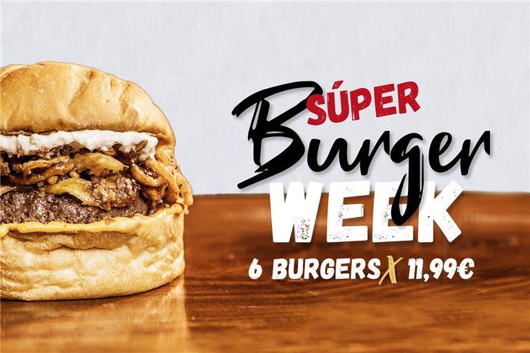 Burger Week - Pack 6 Hamburguesas