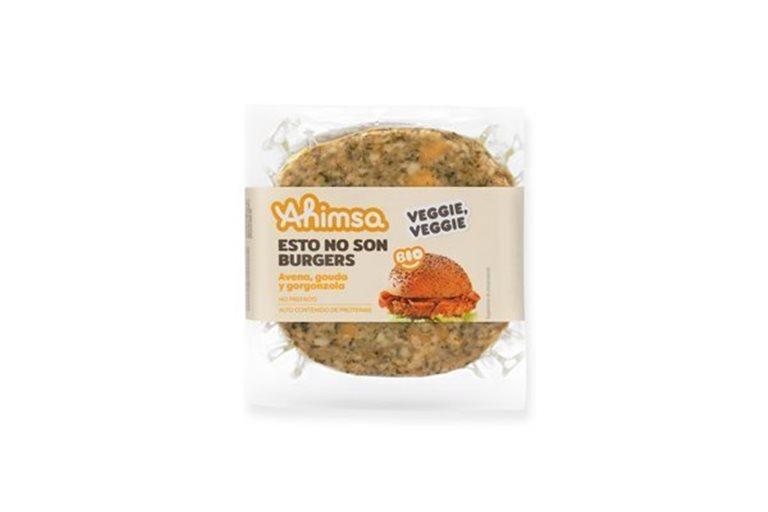 Burguer Avena Gouda y Gorgonzola Bio Ahimsa, 150 gr