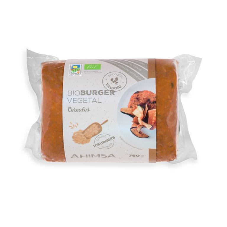 Burguer Vegetal Cereales Familiar Bio Ahimsa, 750 gr