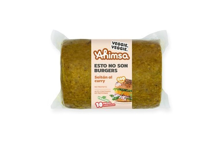 Burguer Vegetal Curry Familiar Bio Ahimsa, 750 gr