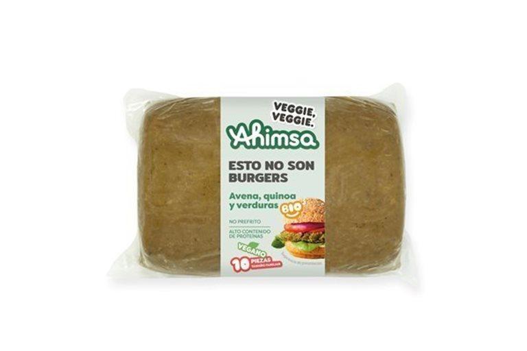Burguer Vegetal Quinoa - Borraja Familiar Bio Ahimsa, 750 gr