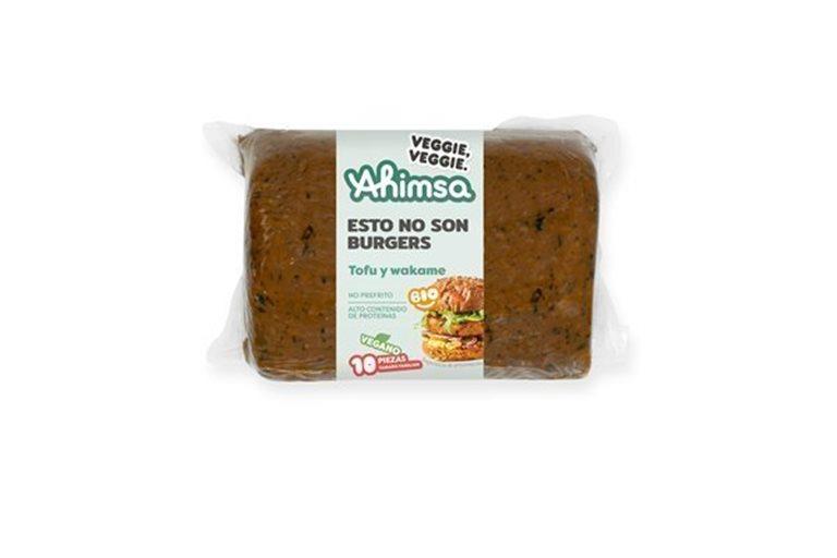 Burguer Vegetal Tofu - Algas Familiar Bio Ahimsa, 750 gr