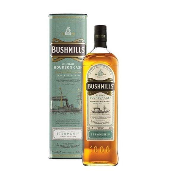 BUSHMILLS STEAMSHIP BOURBON CASK 1L.