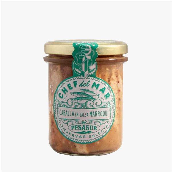 Caballa en salsa marroquí 195 g Pesasur