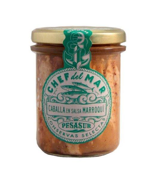 Caballa en salsa marroquí Chef del Mar