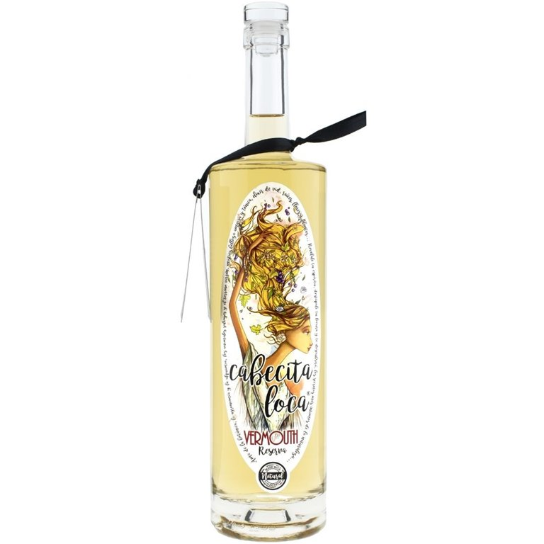 Cabecita Loca Vermouth Blanco Premium Artesano