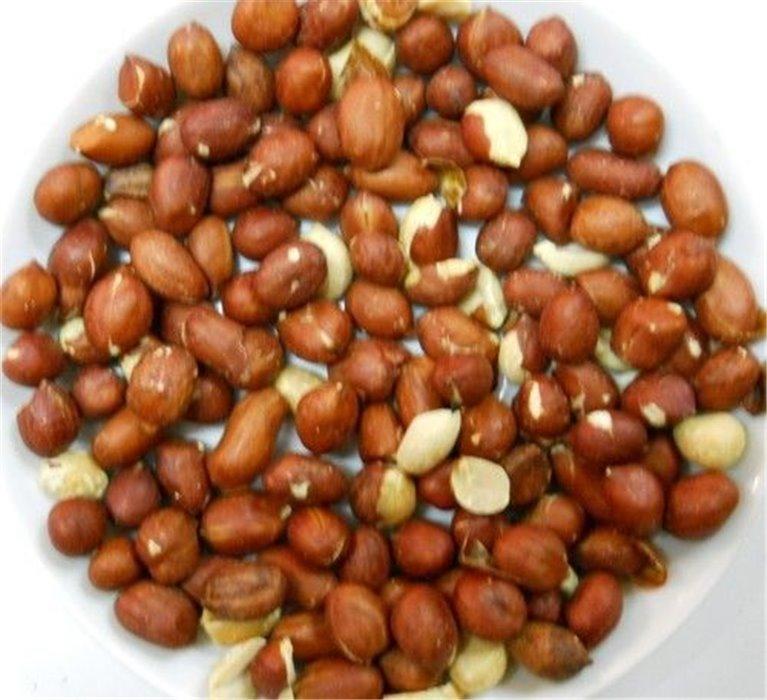 Cacahuete mondado natural crudo, bolsa 500 gramos, 1 ud