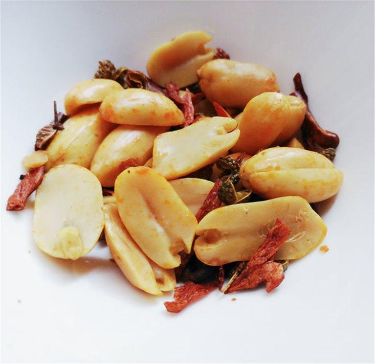 Cacahuete picantes estilo Sichuan 30g, 1 ud