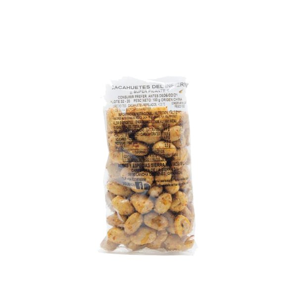 Cacahuetes al Infierno 100g Sierra Nevada