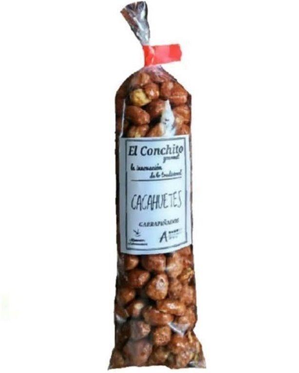 Cacahuetes garrapiñados gourmet, 125 gr