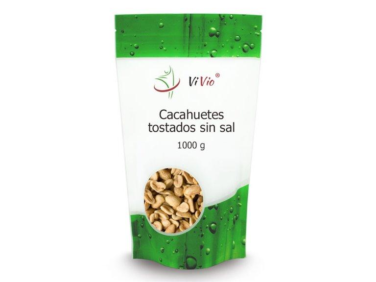 Cacahuetes tostados SIN SAL 1000g