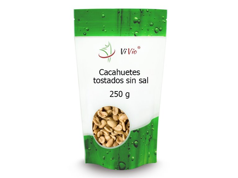 Cacahuetes tostados SIN SAL 250g, 1 ud