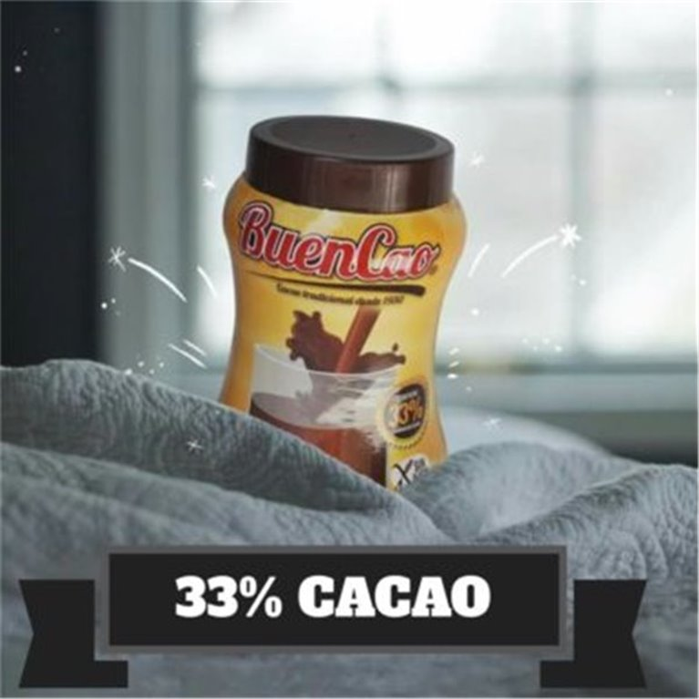 Cacao 33% soluble 800g. BUENCAO