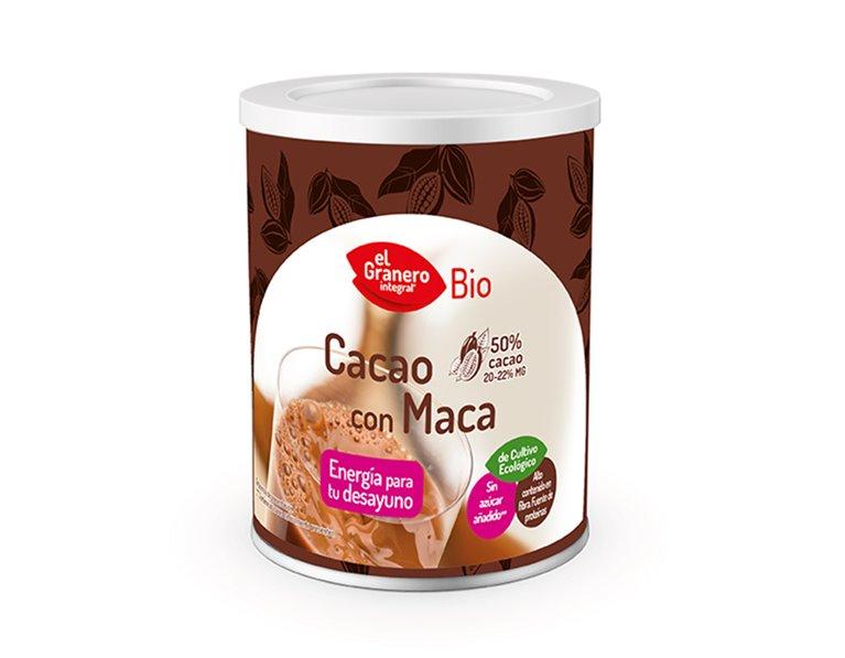 Cacao con Maca en Polvo Bio 200g