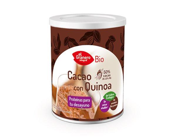 Cacao con Quinoa en Polvo Bio 200g