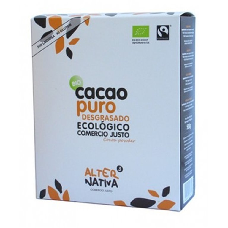 Cacao Desgrasado Puro, 1 ud
