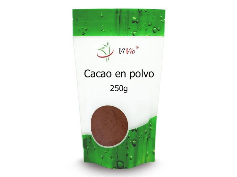 Cacao en polvo 250g, 1 ud