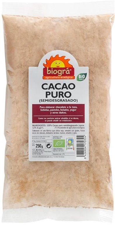 Cacao en Polvo Bio 250g, 1 ud