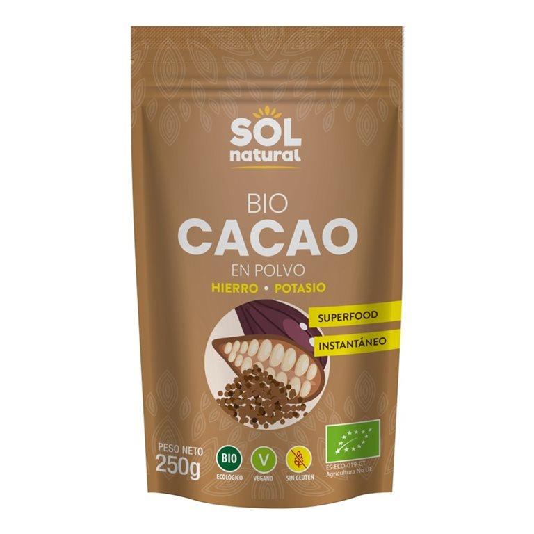 Cacao en Polvo Crudo Raw Bio 100g