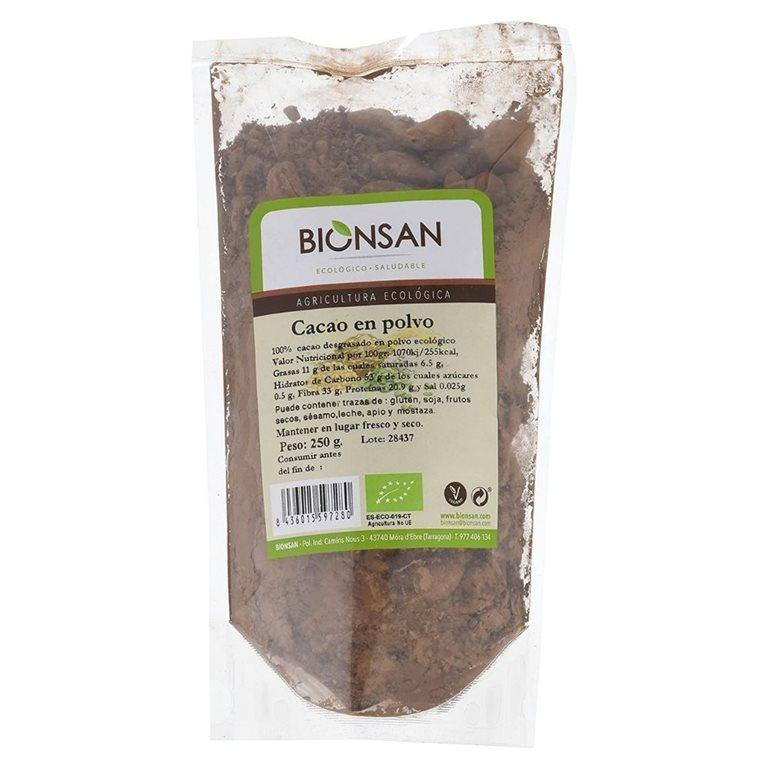 Cacao en polvo ecológico -250gr