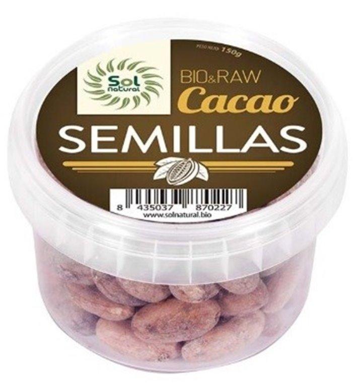 Cacao en Semillas Crudas Raw Bio 150g