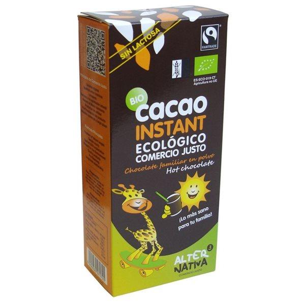 Cacao Instantáneo Bio Fairtrade 250g