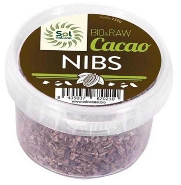 Cacao Nibs Crudo Raw Bio 150g