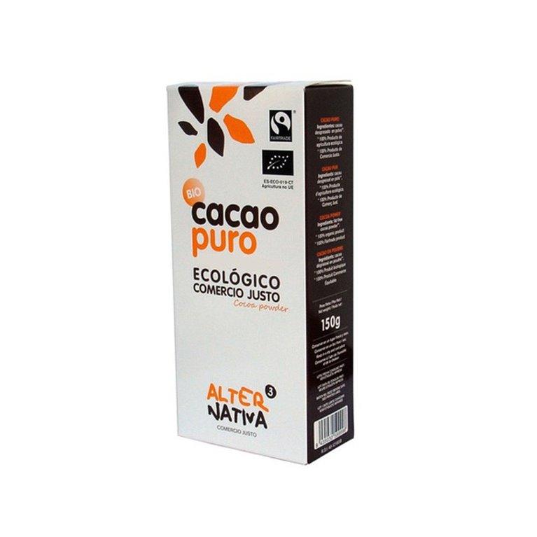 Cacao puro bio 150 grs Alternativa3