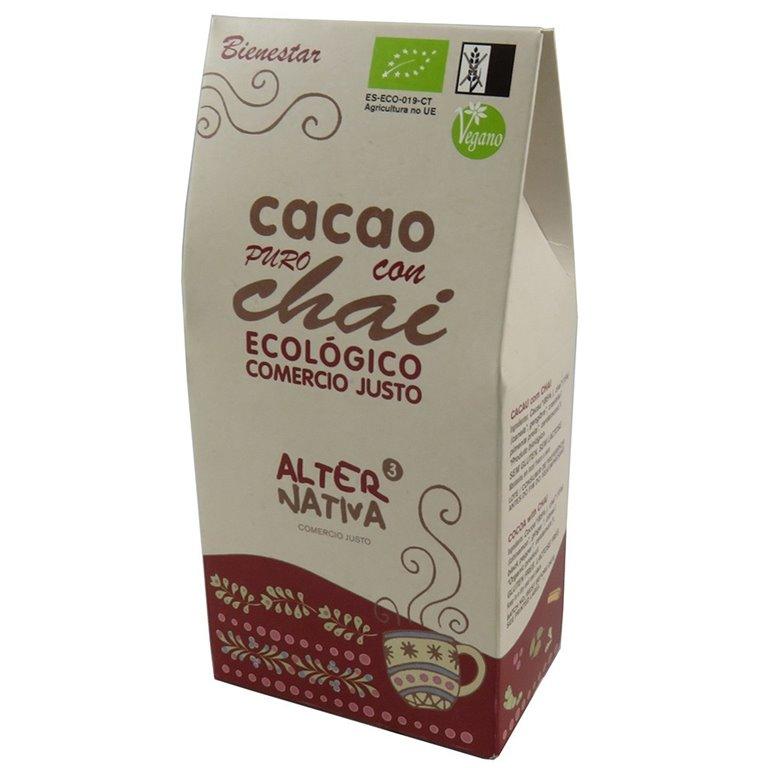 Cacao Puro con Chai Bio Fairtrade 125g