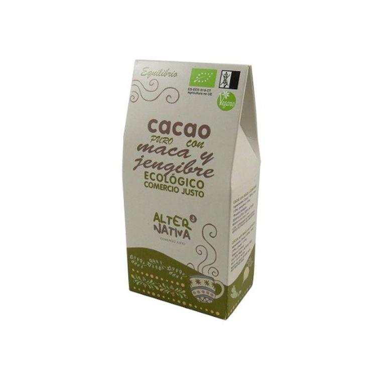 Cacao Puro con Maca y Jengibre Bio Alternativa3 125g