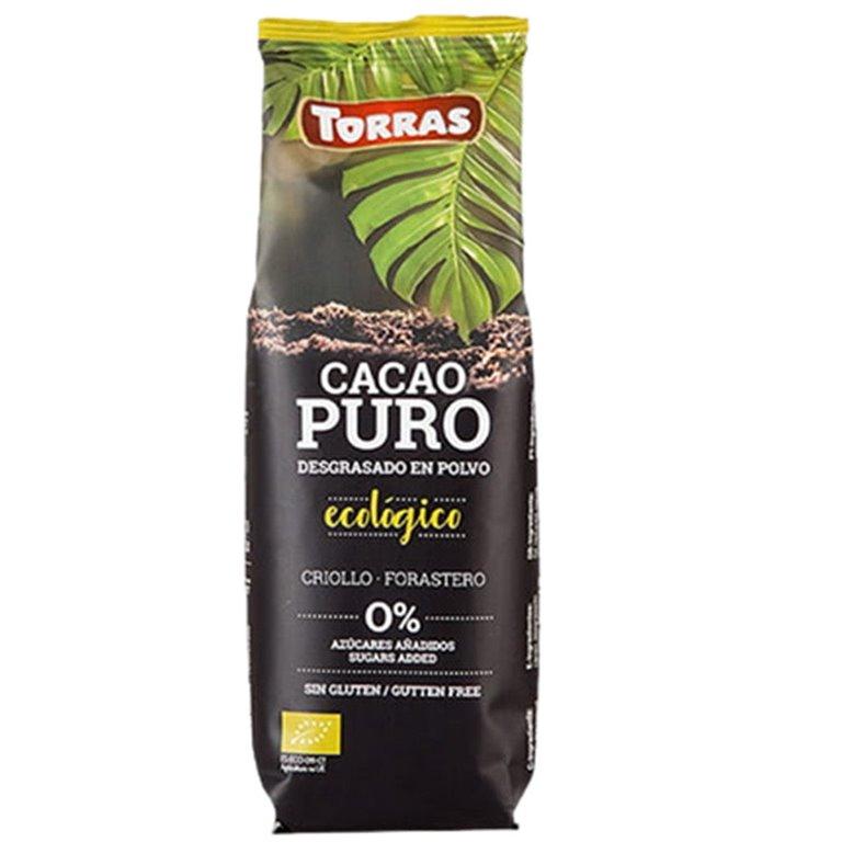 Cacao Puro Desgrasado en Polvo Bio 150g
