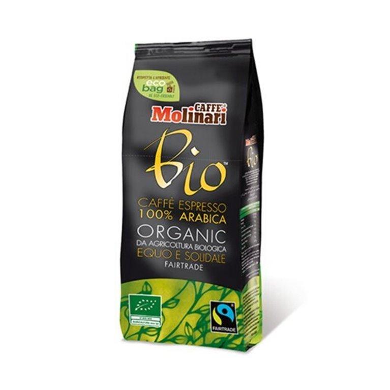 100% organic arabica coffee in 500g bags