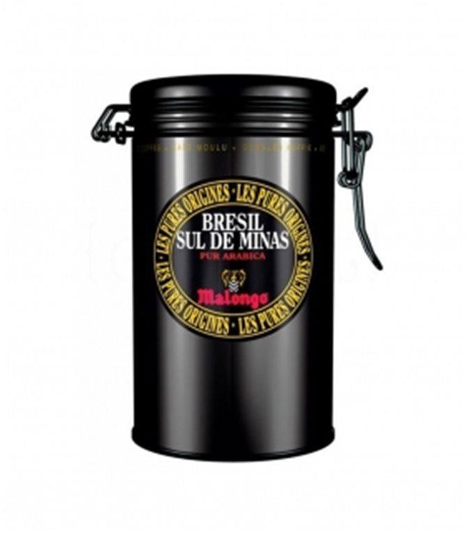 Café Brasil Sul de Minas 250gr. Café Malongo. 4un.