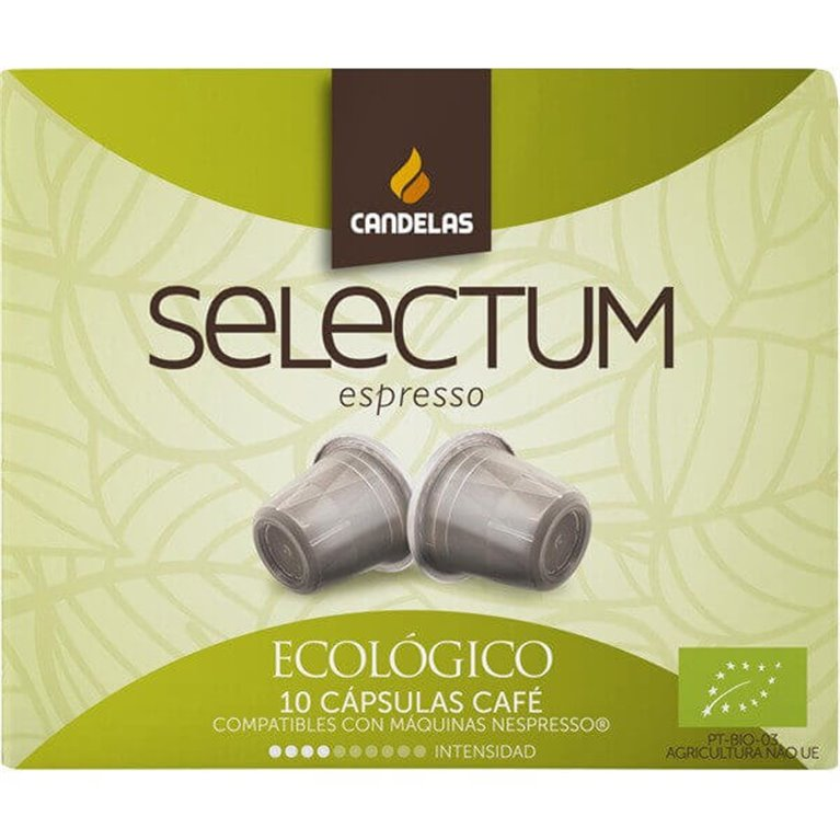 Café cápsula selectum BIO - Candelas