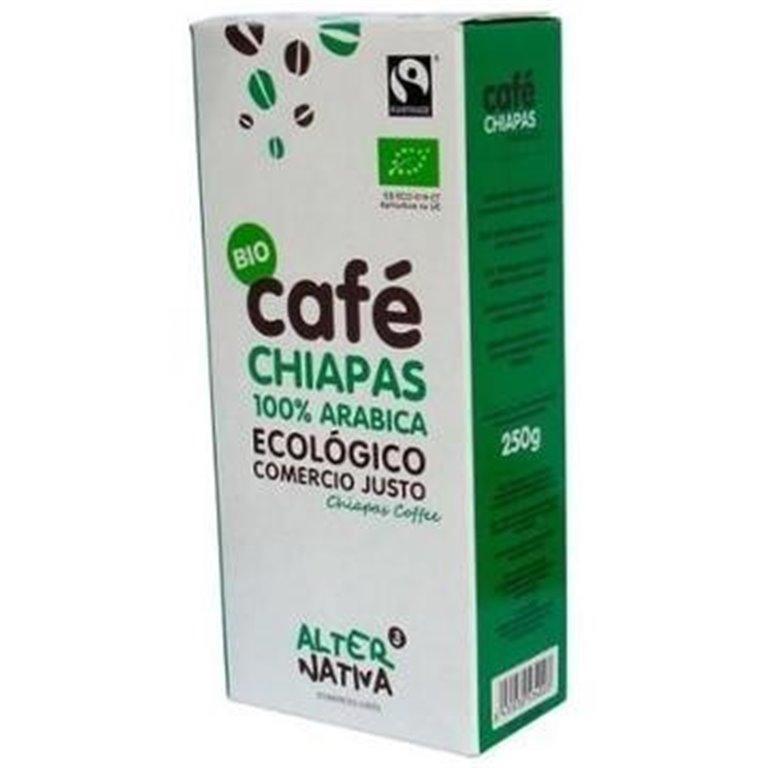 Café Chiapas México Arábica Molido Bio Comercio Justo 250g